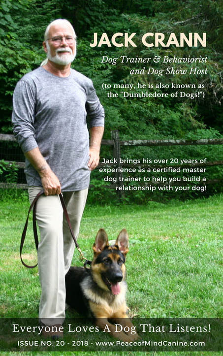 Jack Crann - Peace of Mind Canine - Dog Trainer - Dog Behaviorist